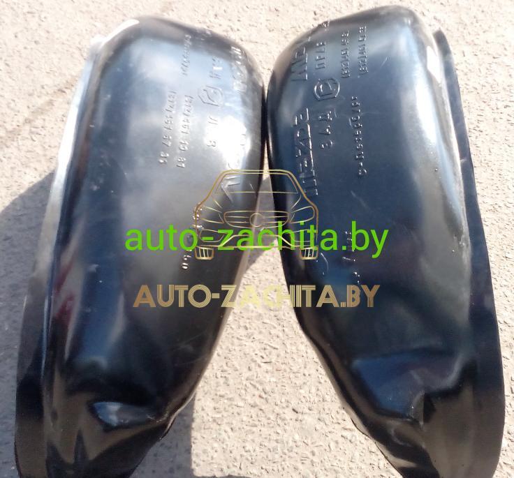 защита колесных арок (подкрылки, локеры) Mitsubishi Pajero Sport I (задние, 2 шт.) ПОДБОР 1998-2008