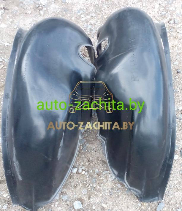 защита колесных арок (подкрылки) Dacia Sandero (задние, 2 шт.) Полные 2008-2012