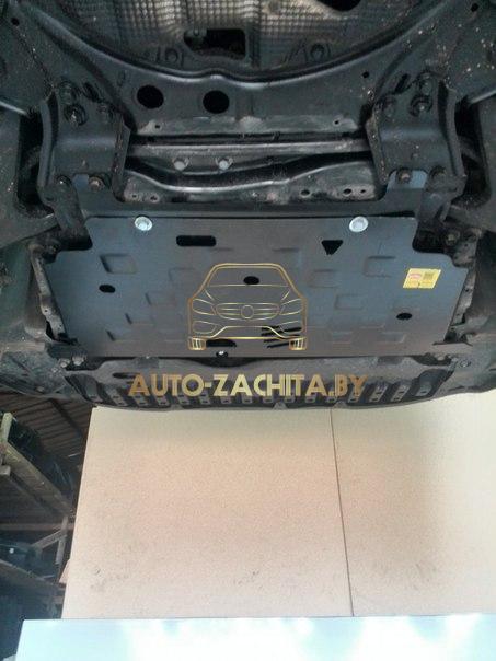 Установка защиты двигателя Toyota Avensis 2010