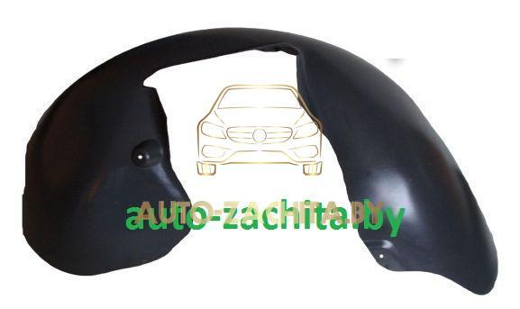 защита колесных арок, подкрылки Volkswagen Passat B6 (передний правый, задняя часть) 2004-2011