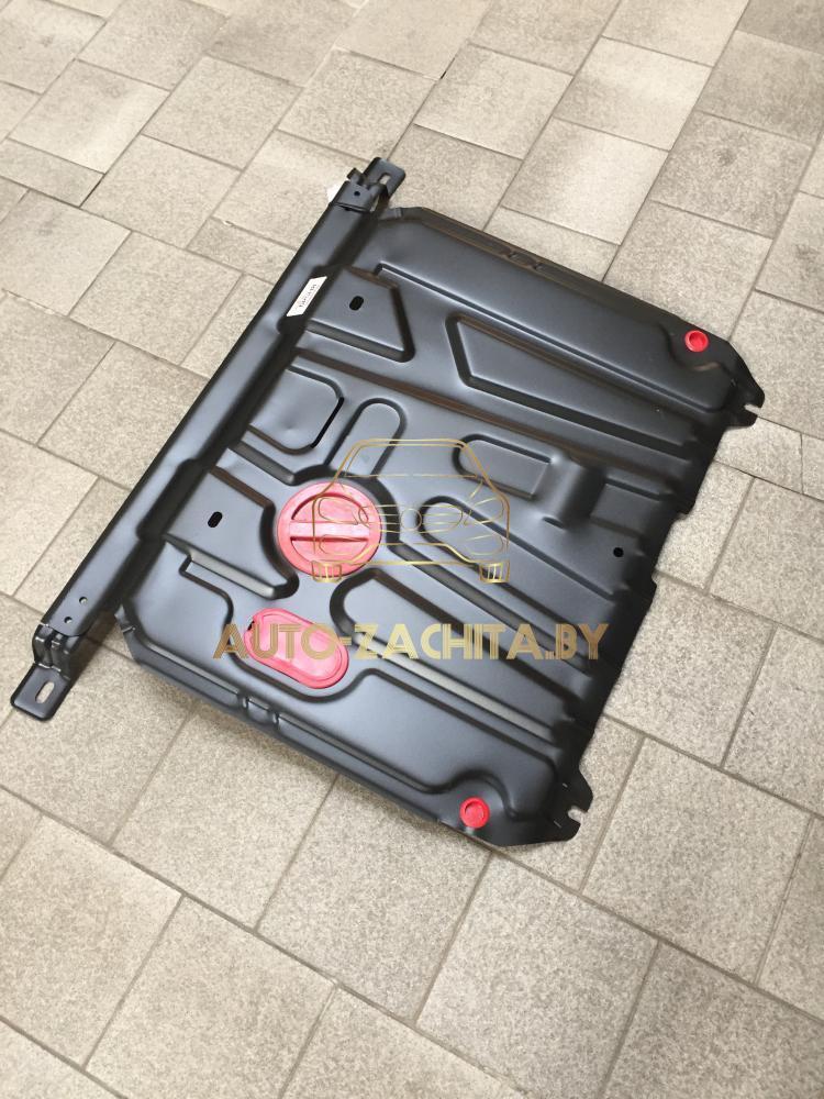 Металлическая защита двигателя Kia Rio III 2011-2017 г.в.