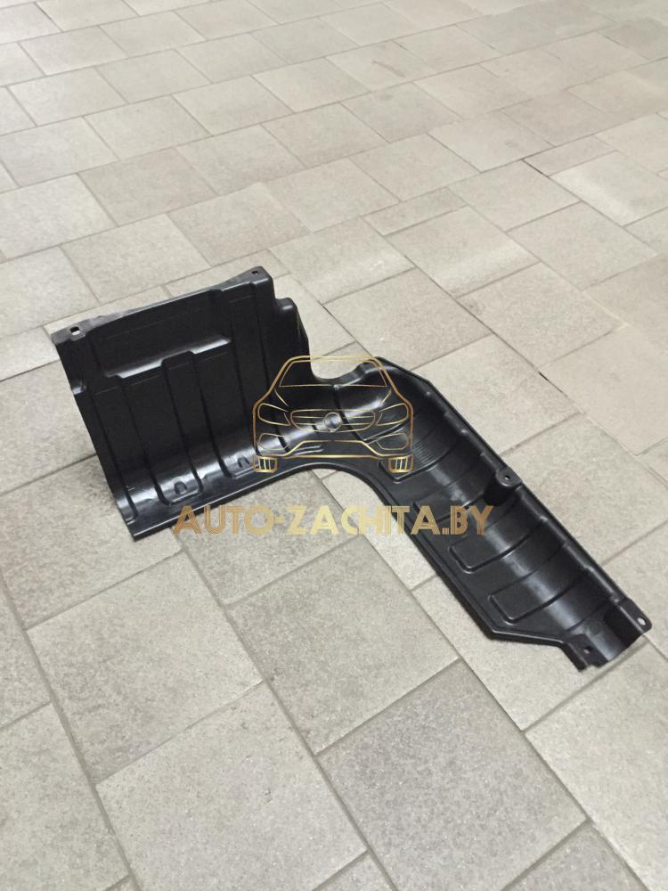 Защита двигателя Kia Rio III 2011-2017 г.в. Левая часть. ОРИГИНАЛ.