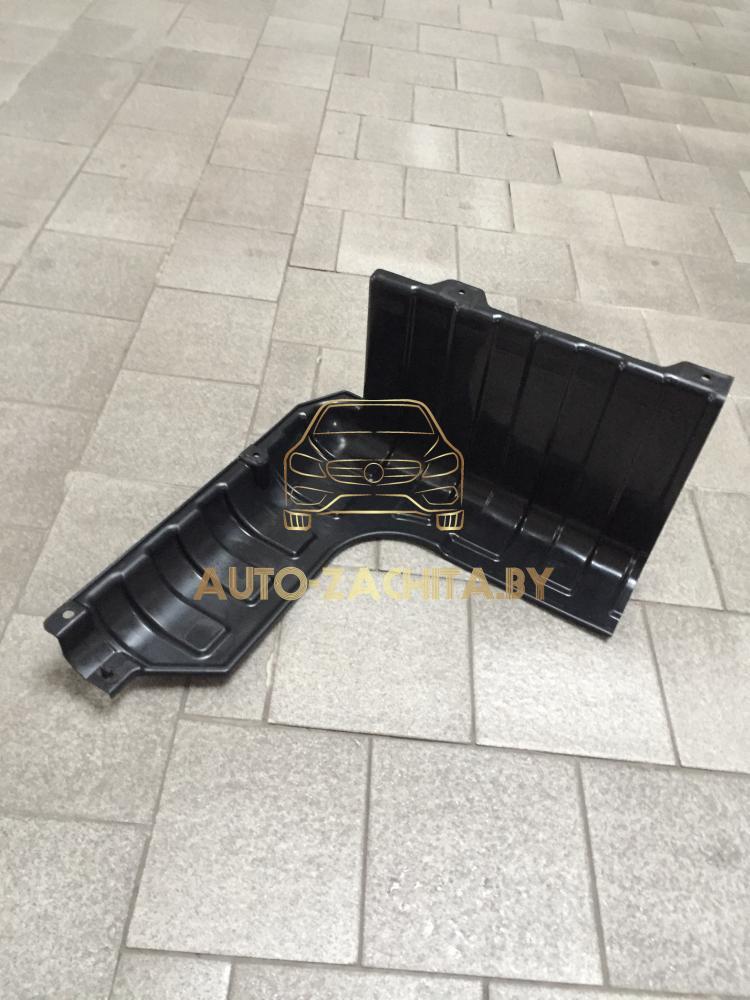 Защита двигателя Hyundai Accent RB 2011-2017 г.в. Правая часть. ОРИГИНАЛ.