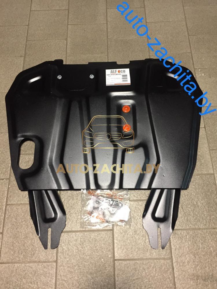 Металлическая защита двигателя и КПП Peugeot 4008 2012-н.в.