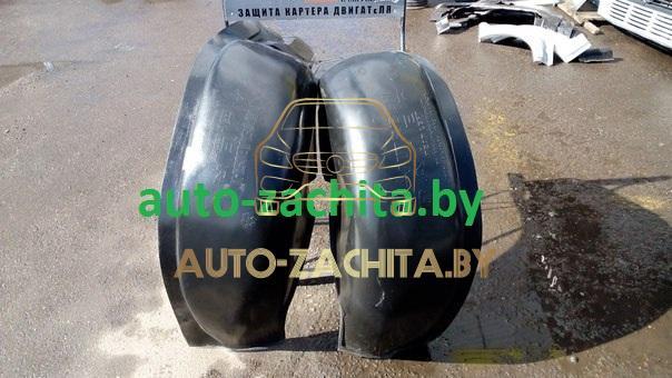 защита колесных арок (подкрылки) Mitsubishi Pajero II (задние, 2 шт.) 1990-2000
