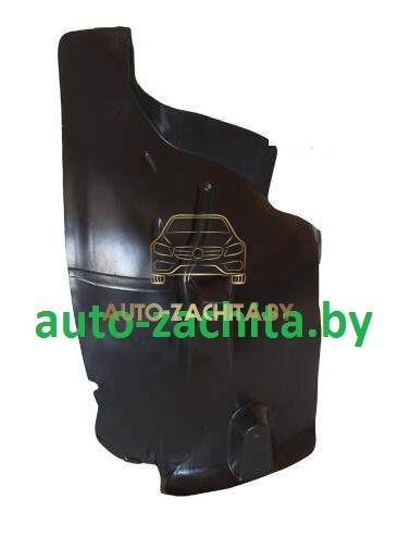 защита колесных арок, подкрылки Peugeot 407 (передний левый, задняя часть)