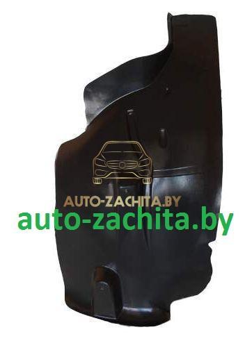 защита колесных арок, подкрылки Peugeot 407 (передний правый, задняя часть)