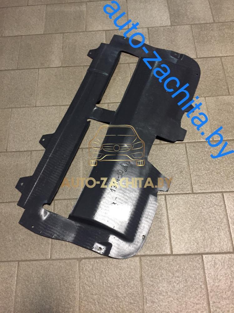 Защита картера двигателя CITROEN C1 2005-2014 г.в. ABS+PCV
