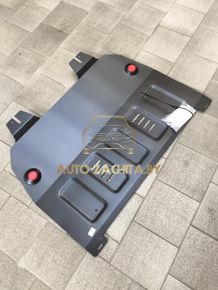 Металлическая защита двигателя и КПП Peugeot Partner II B9 2008-н.в.