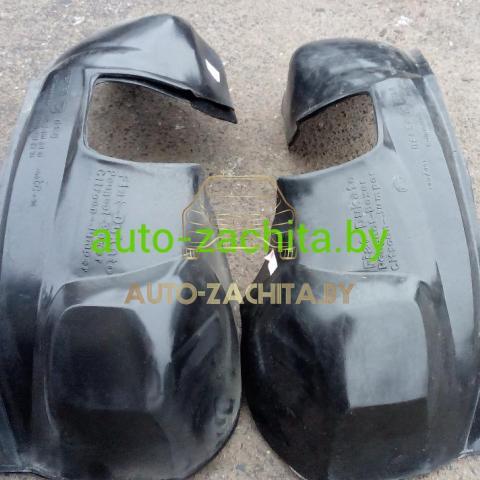 защита колесных арок (подкрылки) Citroen Jumper (передние, 2 шт.) Полные 1994-2006