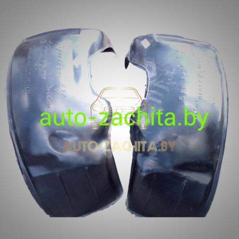 защита колесных арок (подкрылки, локеры) Mitsubishi Pajero Sport I (передние, 2 шт.) ПОДБОР 1998-2008