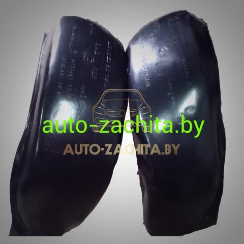 защита колесных арок (подкрылки, локеры) Mitsubishi Space Star (задние, 2 шт.) ПОДБОР 1998-2004