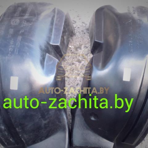 защита колесных арок (подкрылки, локеры) Mitsubishi L200 (передние, 2 шт.) Полные 1996-2006
