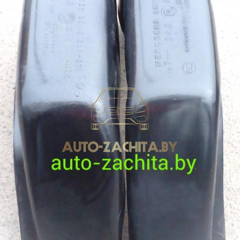 защита колесных арок (подкрылки, локеры) Mercedes-Benz Т1 207D - 410D (задние, 2 шт.) Полные 1977-1995