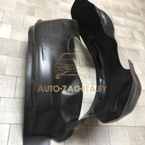 защита колесных арок (подкрылки, локеры) Mitsubishi Pajero III (передние, 2 шт.) Полные 2000-2006