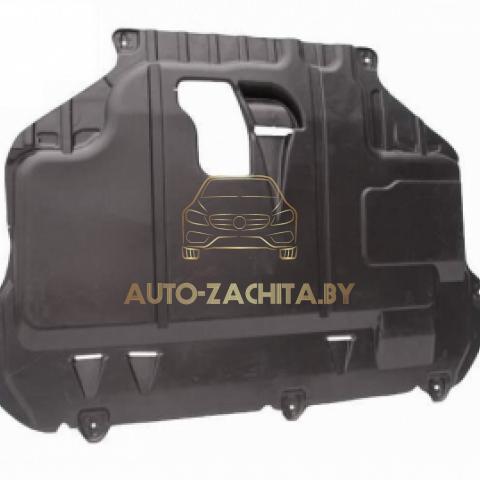 Защита картера двигателя Ford Focus II 2004-2011 г.в. Полиэтилен.