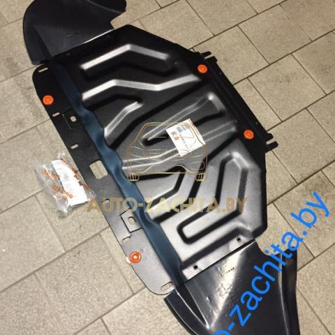 Металлическая защита двигателя AUDI A6 C5 1997-2004