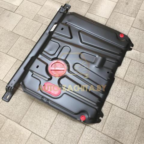 Металлическая защита двигателя Hyundai Accent RB 2011-2017 г.в.