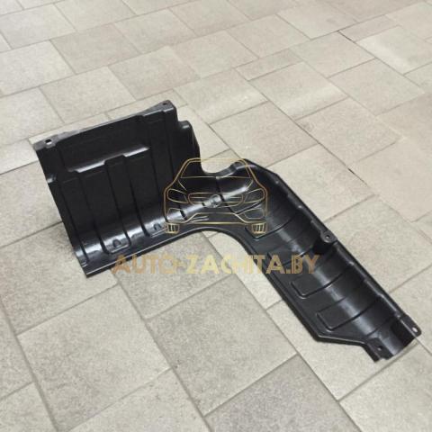 Защита двигателя Hyundai Accent RB 2011-2017 г.в. Левая часть. ОРИГИНАЛ.