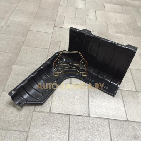Защита двигателя Kia Rio III 2011-2017 г.в. Правая часть. ОРИГИНАЛ.