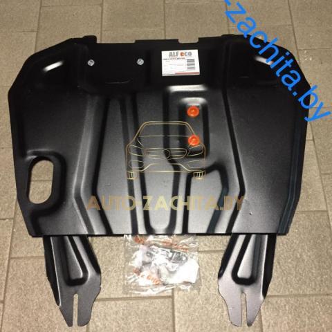 Металлическая защита двигателя и КПП Peugeot 4007 2007-2012.