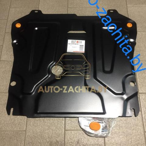 Металлическая защита двигателя Opel Astra J 2009-2018.