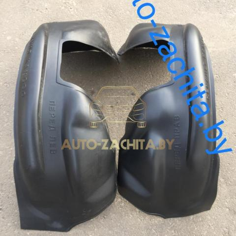 защита колесных арок, подкрылки Renault Kangoo I (передние, 2 шт.) 1998-2007